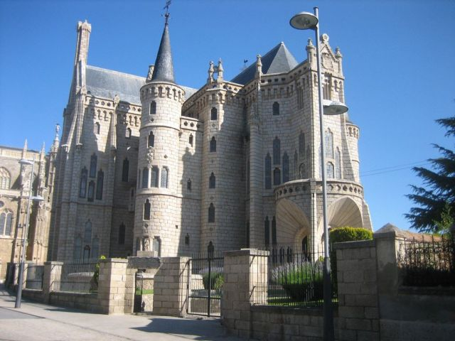 Gaudi Palast in Astorga