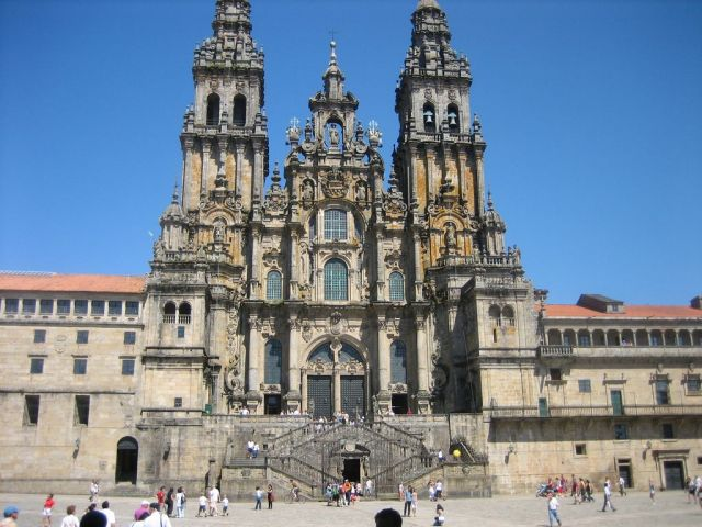 Kathedrale in Santiago